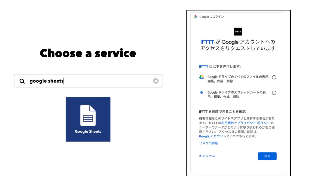 IFTTT_認証